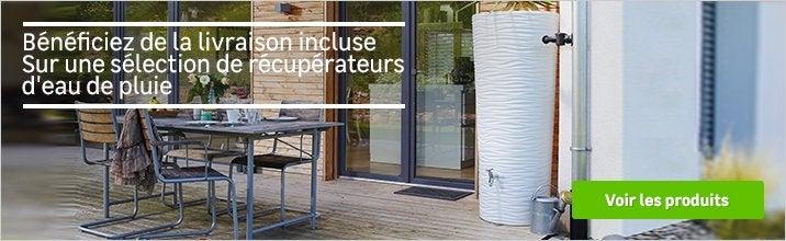 recuperateur eau de pluie exterieur enterr au meilleur. Black Bedroom Furniture Sets. Home Design Ideas