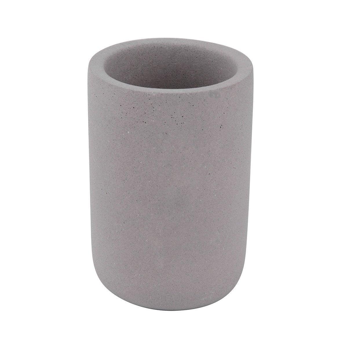 Gobelet béton Apollon, gris clair