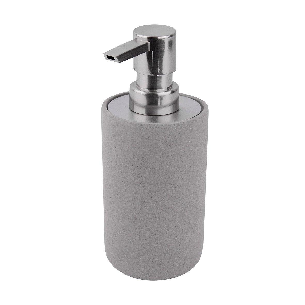 Distributeur de savon béton Apollon, gris clair