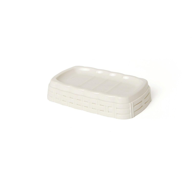 Porte-savon plastique Cottage, cream n°5