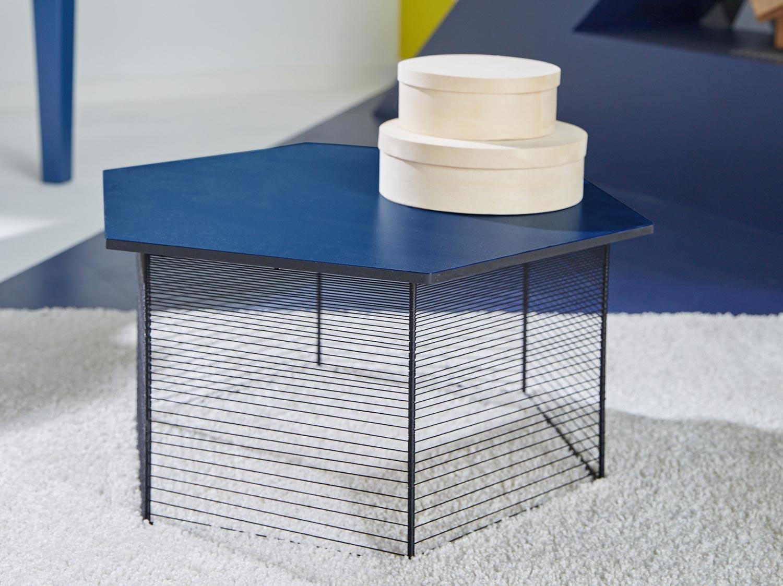 diy fabriquer une table basse hexagonale leroy merlin. Black Bedroom Furniture Sets. Home Design Ideas