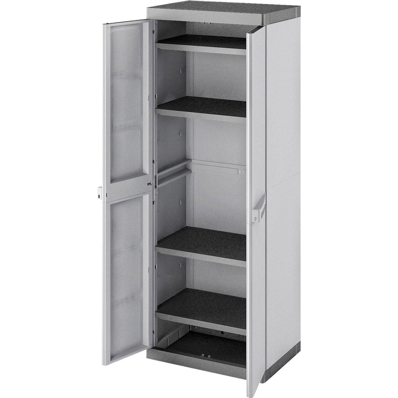 armoire utilitaire etag re et armoire utilitaire au meilleur prix leroy merlin. Black Bedroom Furniture Sets. Home Design Ideas