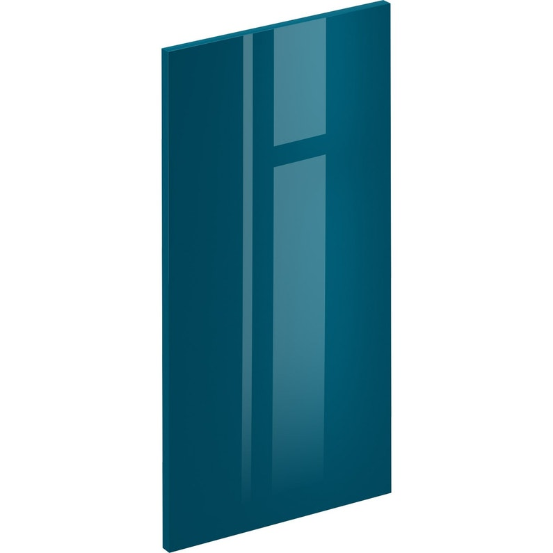 Porte De Cuisine Sevilla Bleu Paon Delinia Id H 76 8 X L 39 7 Cm