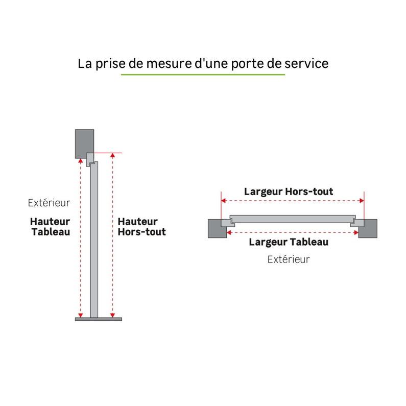 Porte De Service Bois Meranti Pivoine H200 X L90 Cm 13 Vitrée Pous Gauche