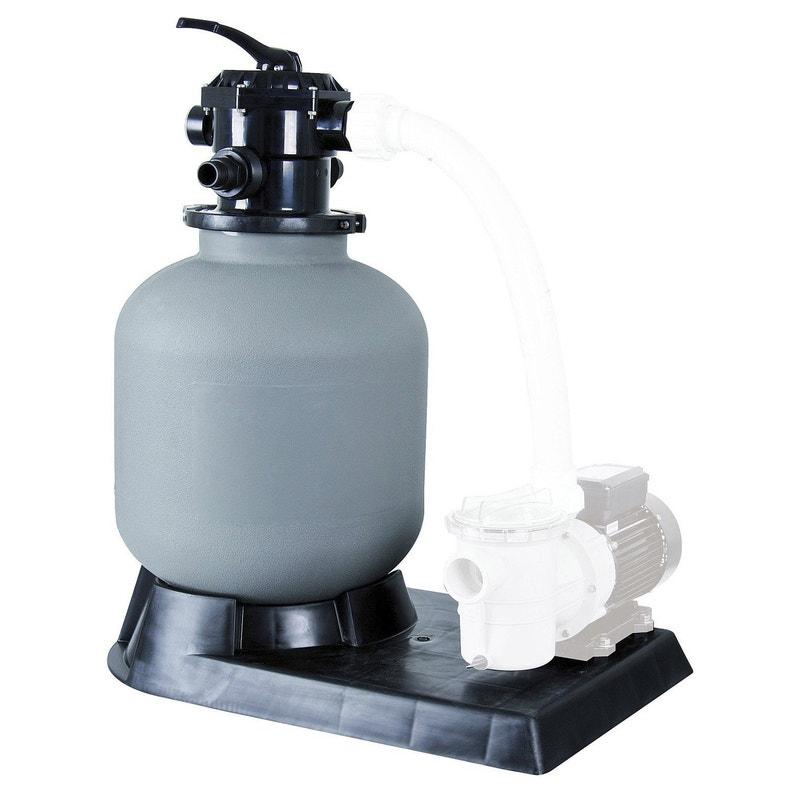 filtre sable pour piscine ubbink cuve 600mm 17 m h. Black Bedroom Furniture Sets. Home Design Ideas