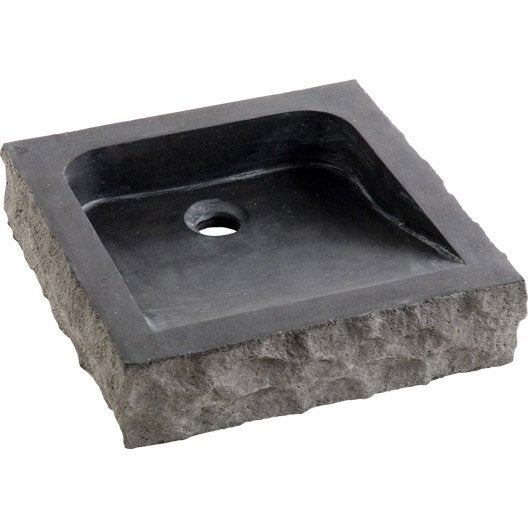leroy merlin vasque poser gallery of vasque poser elodie en pierre basalte leroy merlin with. Black Bedroom Furniture Sets. Home Design Ideas