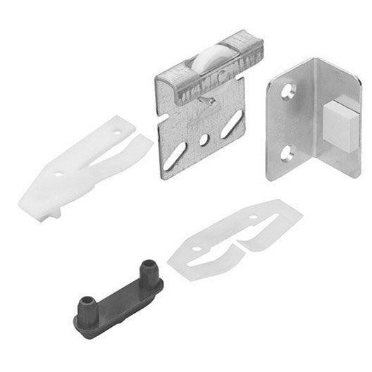 Kit de montage acier et plastique pour portes coulissantes - Leroy merlin kit porte coulissante ...
