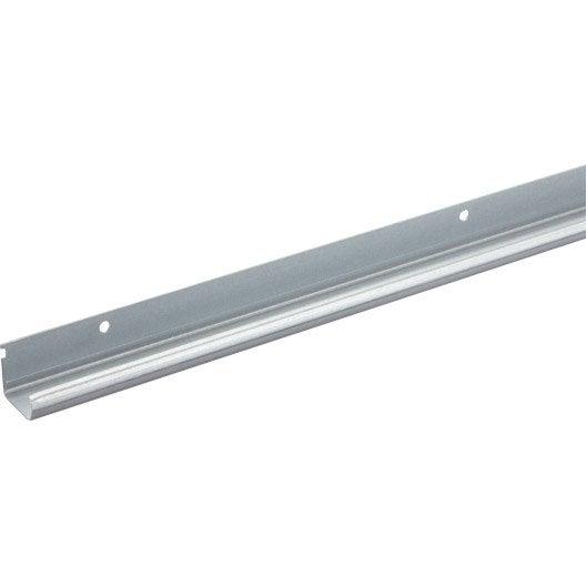 Profil en acier zingu pour portes coulissantes hettich - Rail en aluminium pour porte coulissante ...