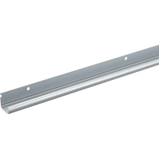 Rail acier pour portes coulissantes hettich leroy merlin for Rail portes coulissantes