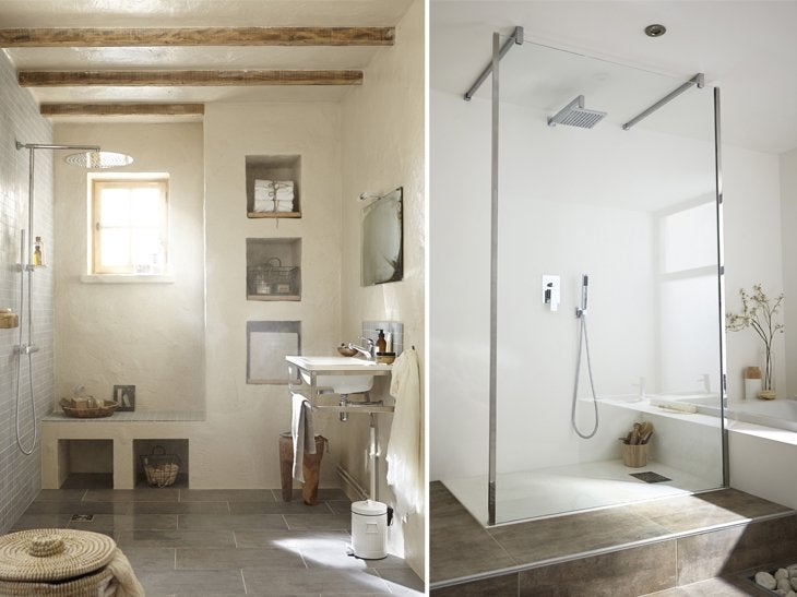 spacieuse la douche a l italienne jpg pictures to pin on. Black Bedroom Furniture Sets. Home Design Ideas