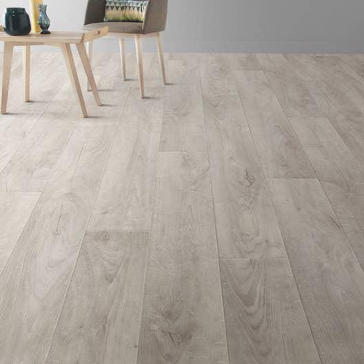 sol pvc blanc factory white artens textile l 4 m leroy merlin. Black Bedroom Furniture Sets. Home Design Ideas