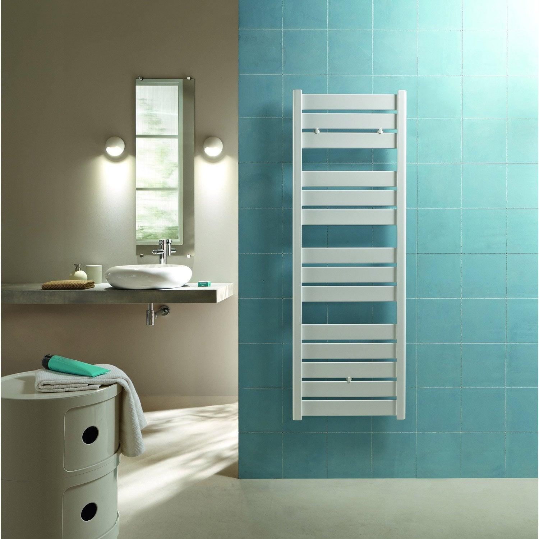 s che serviettes eau chaude acier acova madras blanc 625. Black Bedroom Furniture Sets. Home Design Ideas
