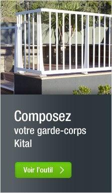Balustre et garde corps pour terrasse et jardin terrasse for Comgarde corps pvc pour terrasse