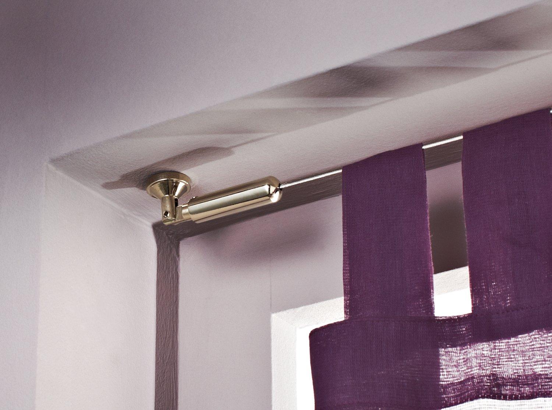un c ble suspendu au plafond pour habiller la fen tre. Black Bedroom Furniture Sets. Home Design Ideas