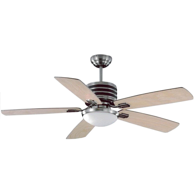 Ventilateur de plafond goa leroy merlin - Ventilateur plafond design ...