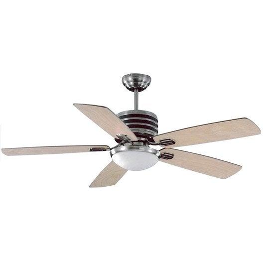 Ventilateur de plafond goa leroy merlin for Ventilateur brumisateur interieur avis