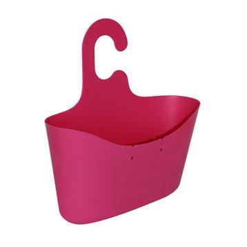 Panier de bain / douche à suspendre, rose shocking n°2, Play l