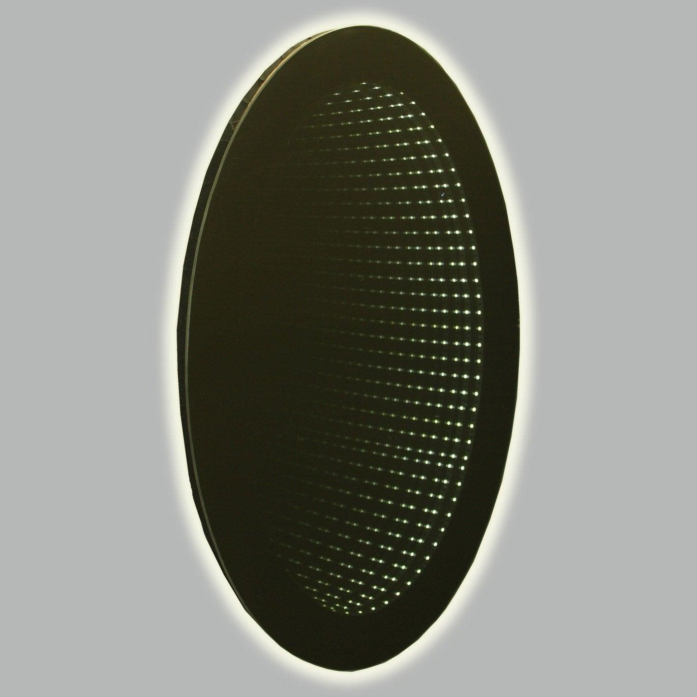 miroir ovale led 3d miroir l 41 x h 60 cm Résultat Supérieur 16 Merveilleux Miroir Led 60 Stock 2017 Kqk9