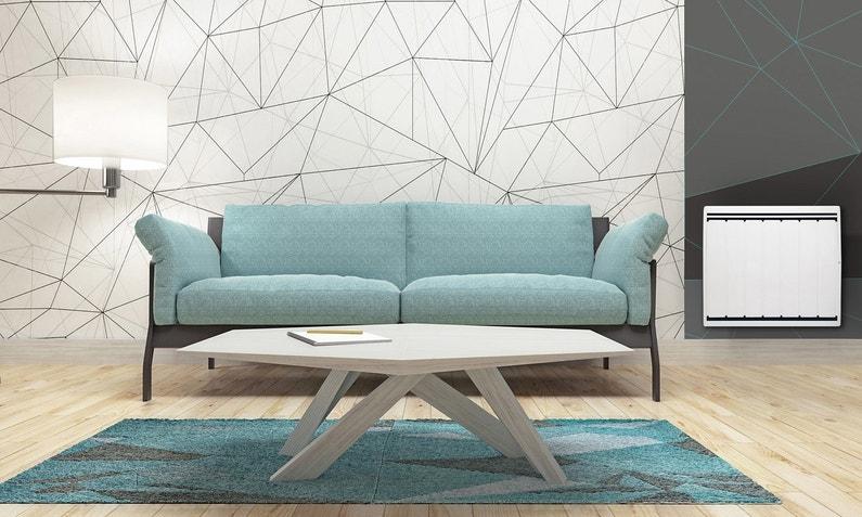un radiateur lectrique double syst me chauffant leroy merlin. Black Bedroom Furniture Sets. Home Design Ideas