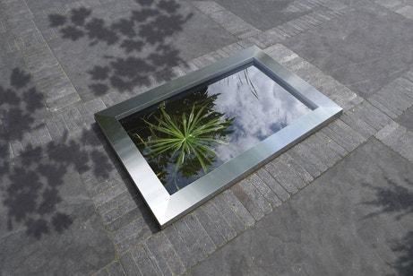 Un bassin design pour ma terrasse