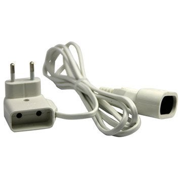 Rallonge électrique ménager, 2 prises de 16 A L.3 m