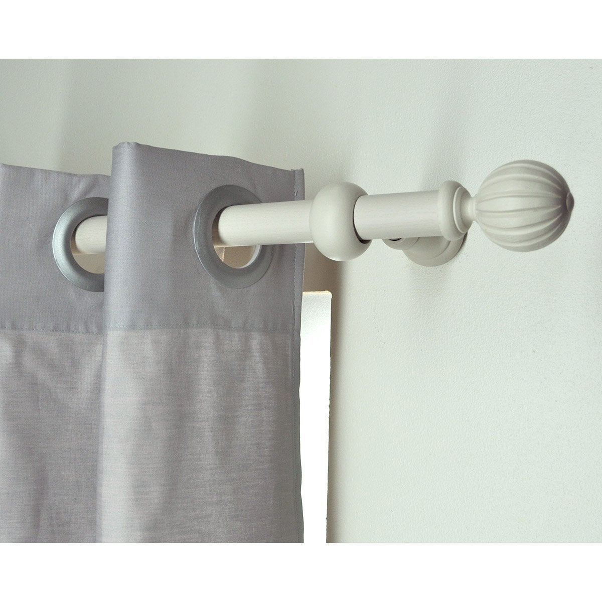 Support Tringle Rideau Plafond support tringle à rideau, 28 mm plume brillant inspire