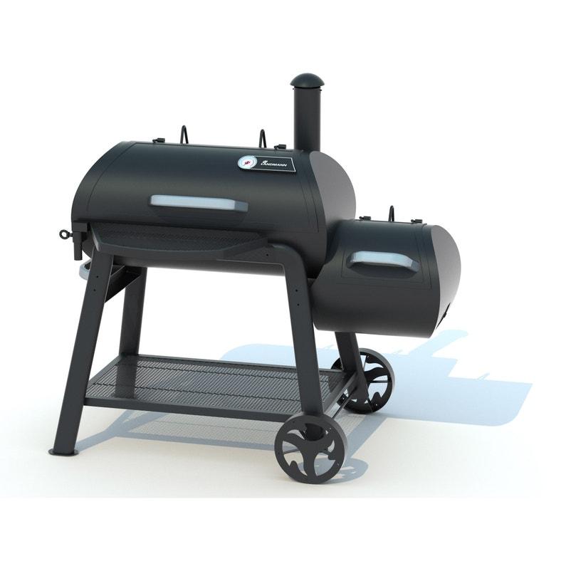 Barbecue Fumoir Au Charbon De Bois Landmann Vinson 400 Noir Leroy