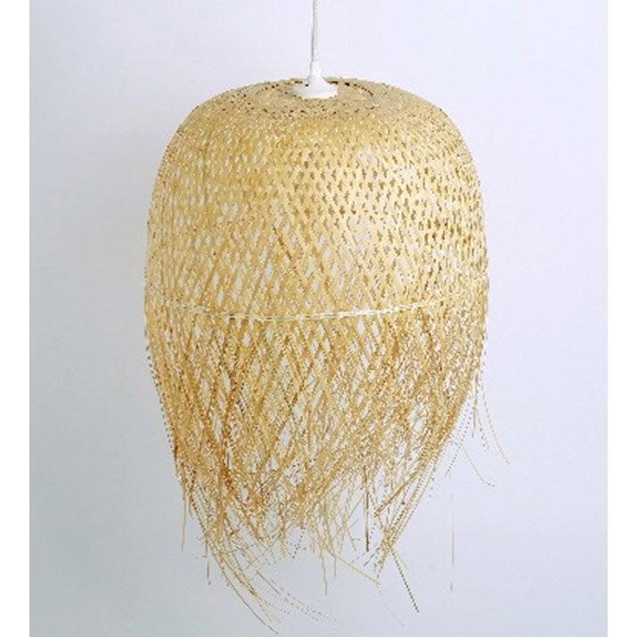 Suspension, zen bambou naturel SAMPA HELIOS 1 lumière(s) D.27 cm