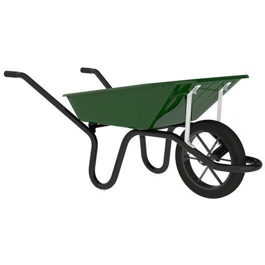 brouette 1 roue pleine haemmerlin aktiv premium peinte 90l 150kg leroy merlin. Black Bedroom Furniture Sets. Home Design Ideas