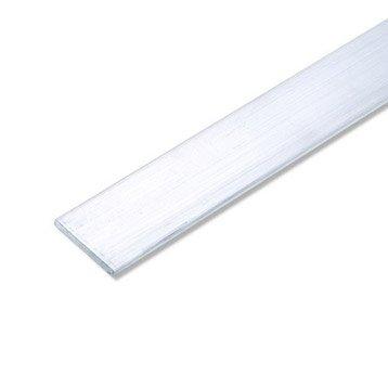 Plat aluminium brut, L.2.5 m x l.3.55 cm