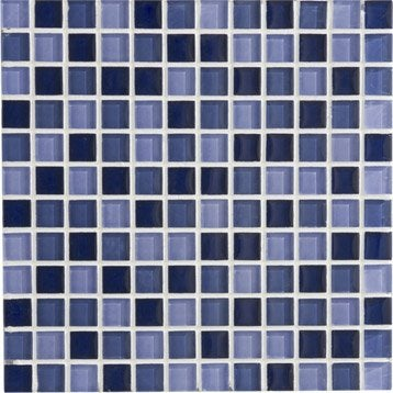 Mosa que galet carrelage sol et mur leroy merlin for Carrelage 5x5 bleu