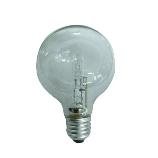 ampoule globe halog ne 77w 1326lm quiv 100w e27 2750k lexman leroy merlin. Black Bedroom Furniture Sets. Home Design Ideas