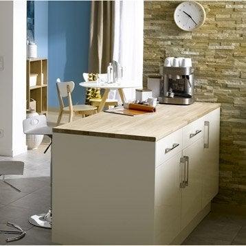 plan de travail ch ne brut 250 x 65 cm paisseur 26 mm. Black Bedroom Furniture Sets. Home Design Ideas