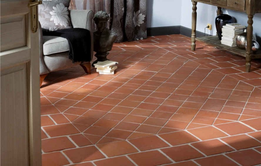 carrelage imitation tomette ancienne good carrelage with