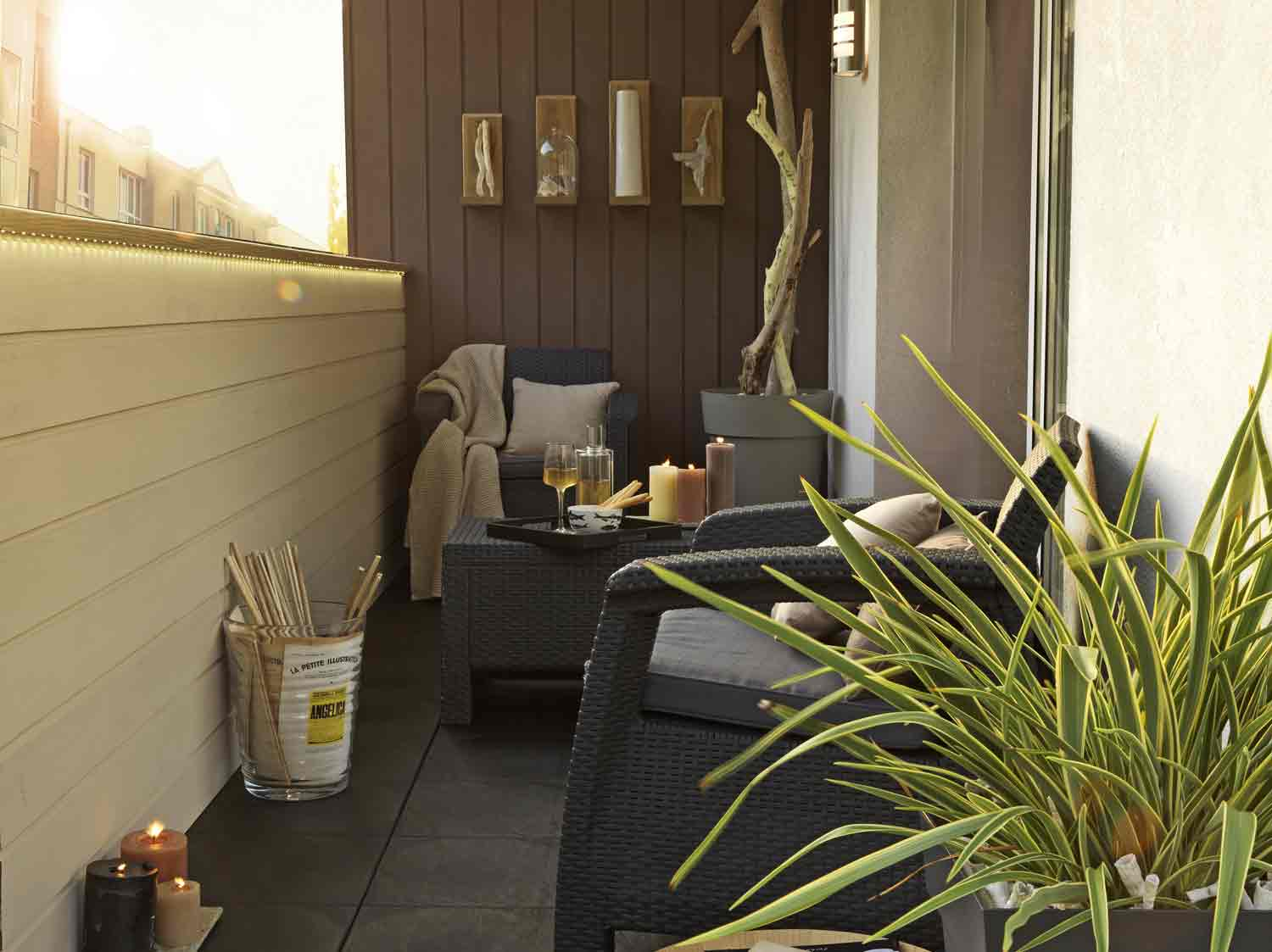 Jardiner sur votre balcon leroy merlin for Bien amenager son salon