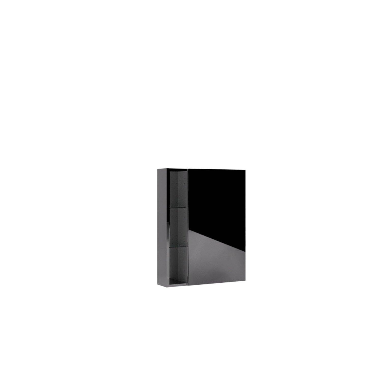 Extension pour armoire de toilette, l.15 x H. x P.14cm, Chrome ...