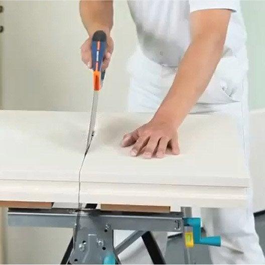 Wonderful Comment Apprendre Monter Un Mur En Plaque De Ba 13 En Apprendre A Peindre  Un Mur