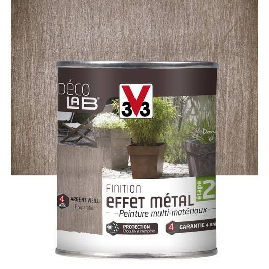 Peinture de finition effet m tal ext rieur d co v33 for Peinture metal exterieur