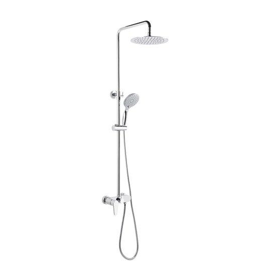 Colonne de douche avec robinetterie sarodis fusion 30 - Colonne douche leroy merlin ...