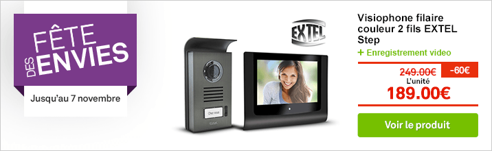 Visiophone filaire EXTEL