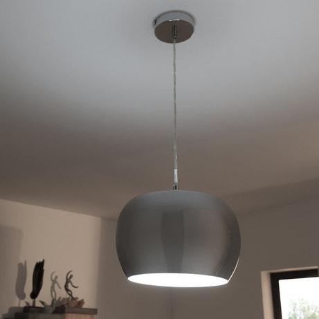 Une suspension métal chromé qui illumine votre intérieur