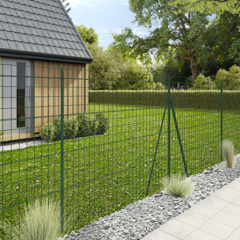grillage rouleau soud palma nature vert h. Black Bedroom Furniture Sets. Home Design Ideas