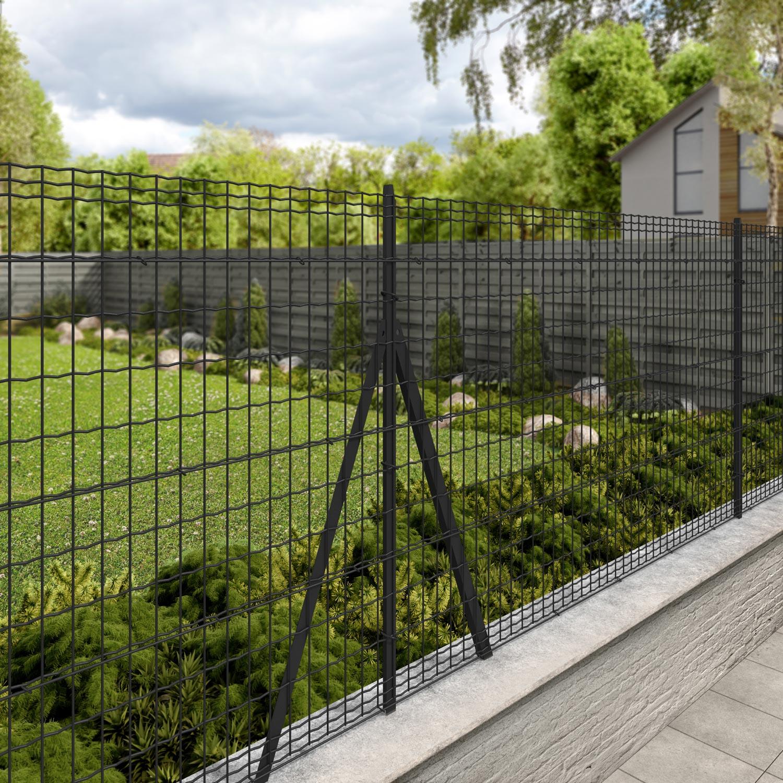 grillage rouleau soud luxor nature gris h m. Black Bedroom Furniture Sets. Home Design Ideas