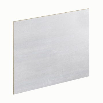 Crédence stratifié Calico blanc sylwood H.64 cm x Ep.9 mm x cf0b29a0fac5