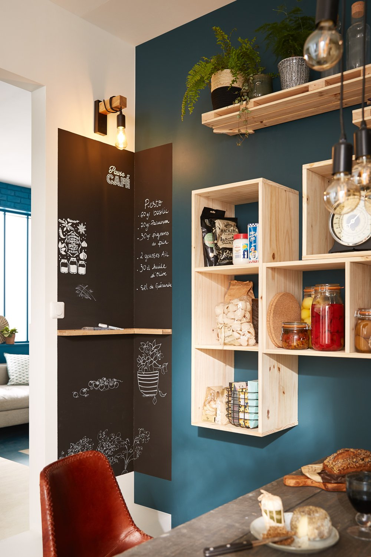 Deco Avec Des Caisses De Pommes caisse en bois pour une cuisine optimisée | leroy merlin