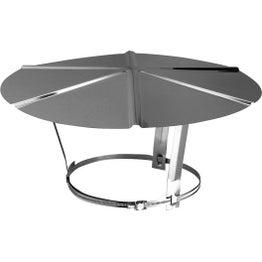 Chapeau pare-pluie simple POUJOULAT 140 mm