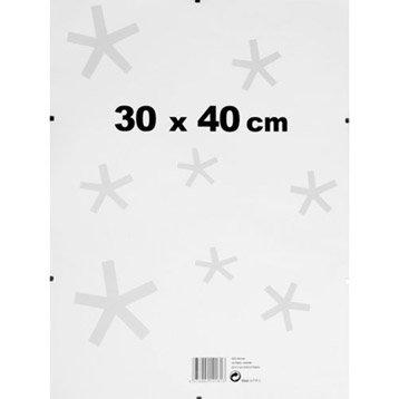 Sous verre, 30 x 40 cm