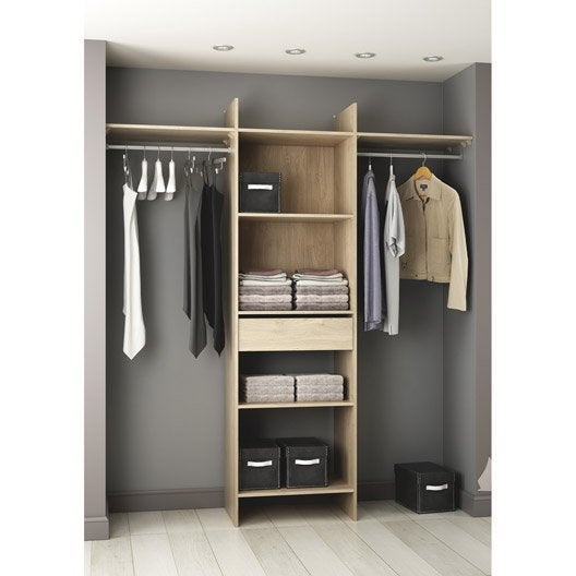 amazing armoire designe armoire dressing pas cher gifi kit. Black Bedroom Furniture Sets. Home Design Ideas