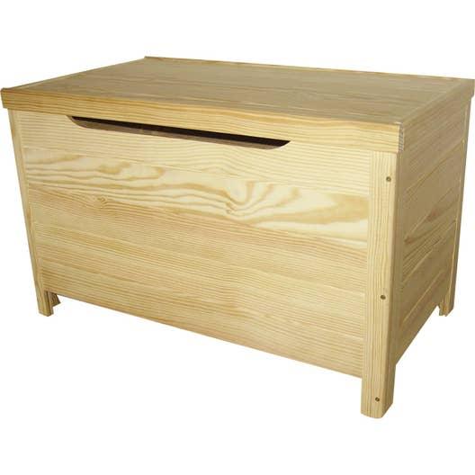 coffre monter pin x x cm leroy merlin. Black Bedroom Furniture Sets. Home Design Ideas