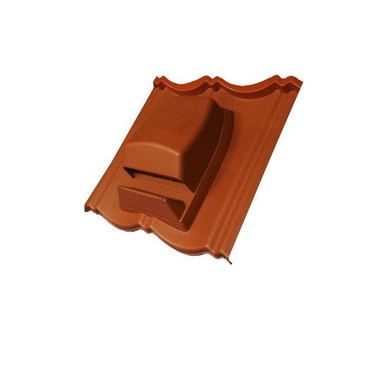 tuile chati re pour plaque tuilacier terracotta l m leroy merlin. Black Bedroom Furniture Sets. Home Design Ideas
